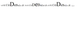 کد افکت متن برای سایت و وبلاگ