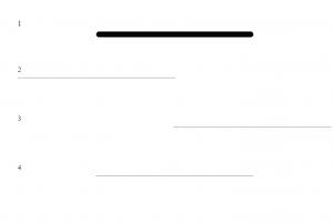 استایل زیبای hr یا خط افقی