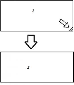 کد حذف گوشه تکست باکس