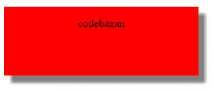 کد سایه دار کردن متن