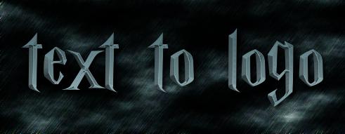 text to logo