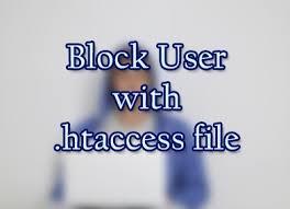 مسدود کردن یک ایپی از سایت و یا انتقال ایپی به ادرس مورد نظر