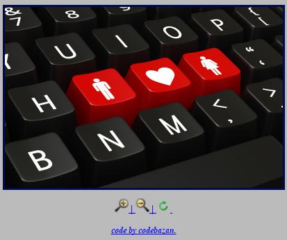 کد زوم شدن عکس در سایت